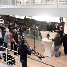 Wiedereröffnung der Kogge-Halle im Deutschen Schiffahrtsmuseum